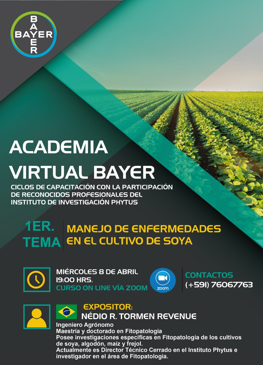 Agricultores podrán ser parte de la  Academia Virtual Bayer