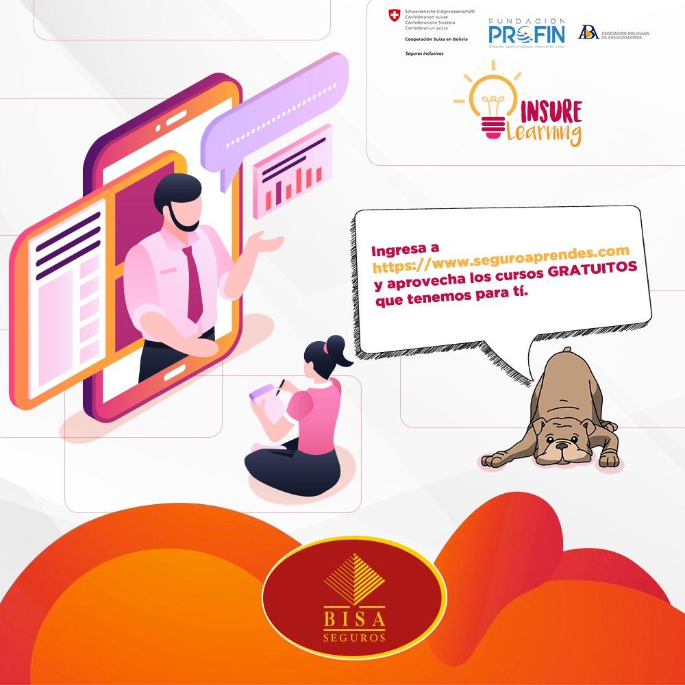 BISA Seguros lanza la primera plataforma digital de capacitación sobre la industria aseguradora