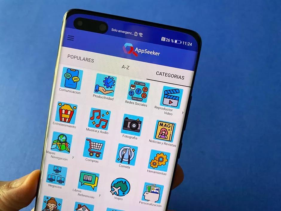 AppSeeker ya está disponible en la AppGallery de Huawei para poder encontrar y descargar las aplicaciones más populares.