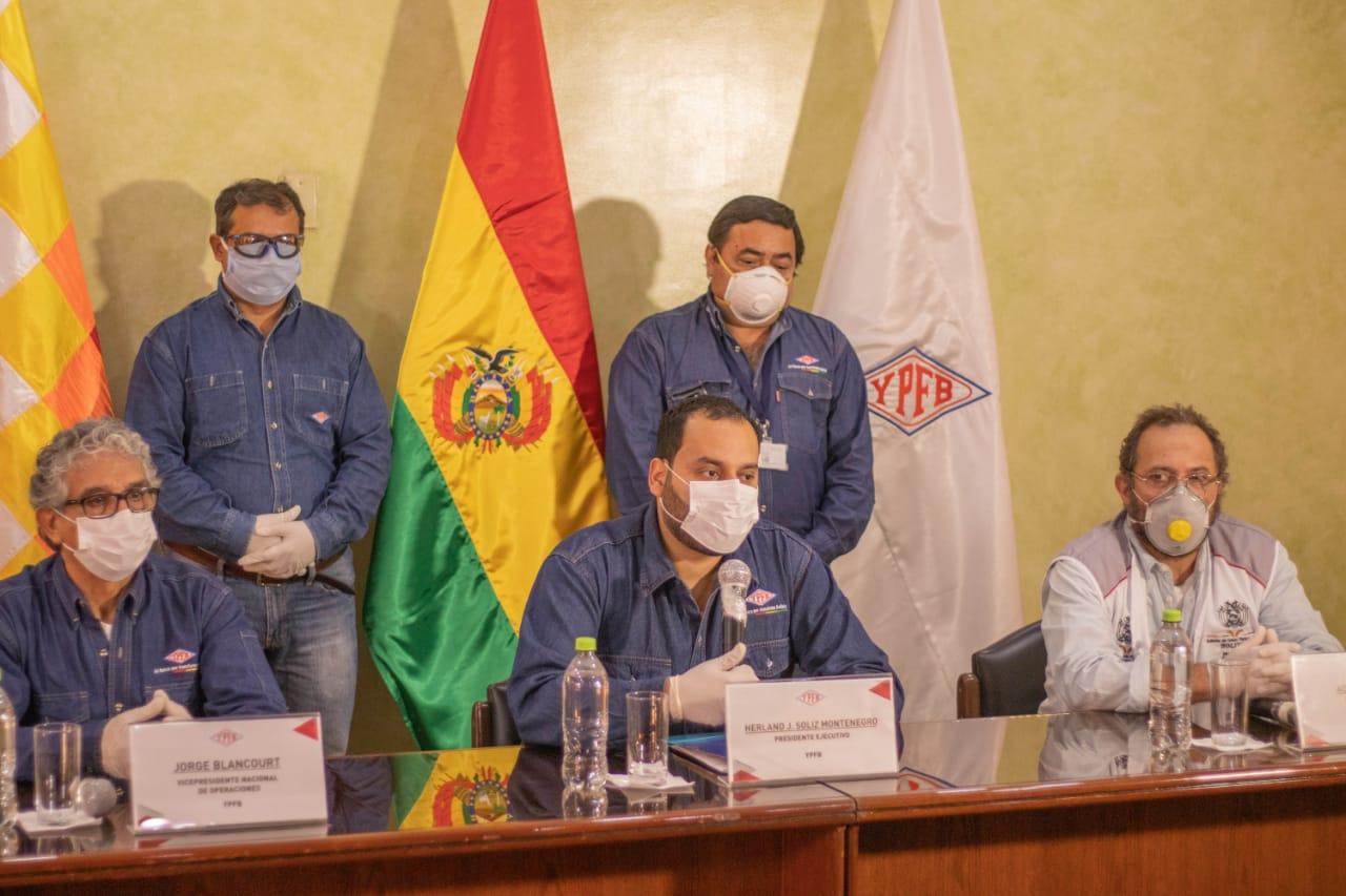 YPFB exporta 10 MMmcd de gas a Brasil y Argentina a través de tres empresas privadas