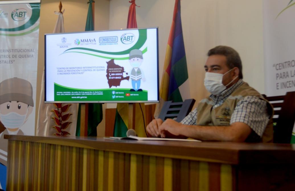 ABT socializó plan de prevención de incendios forestales en la Chiquitanía  y reporta disminución de focos de calor