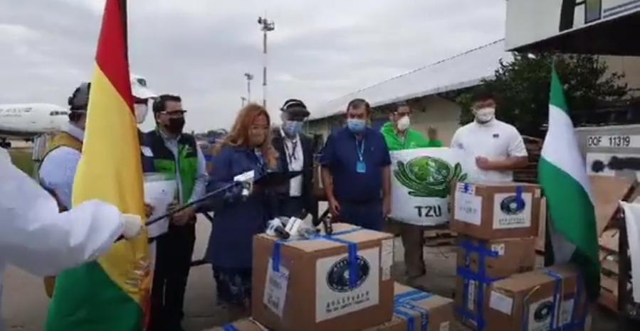 Fundación de Taiwán dona a la Alcaldía de Santa Cruz de la Sierra equipos e insumos de bioseguridad