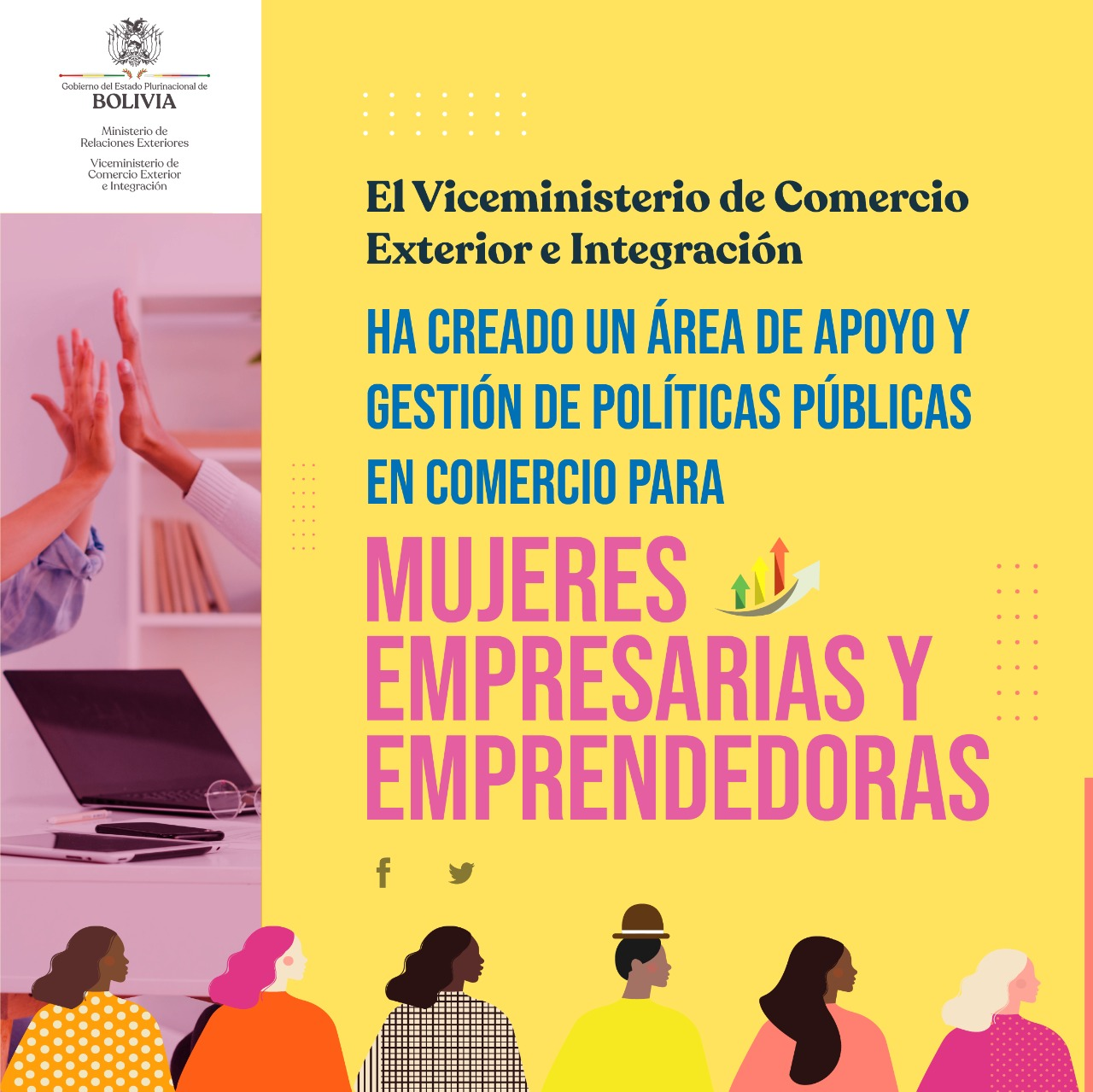 Viceministerio de Comercio Exterior e Integración crea el Área de Apoyo y Gestión en Comercio para empresarias y emprendedoras