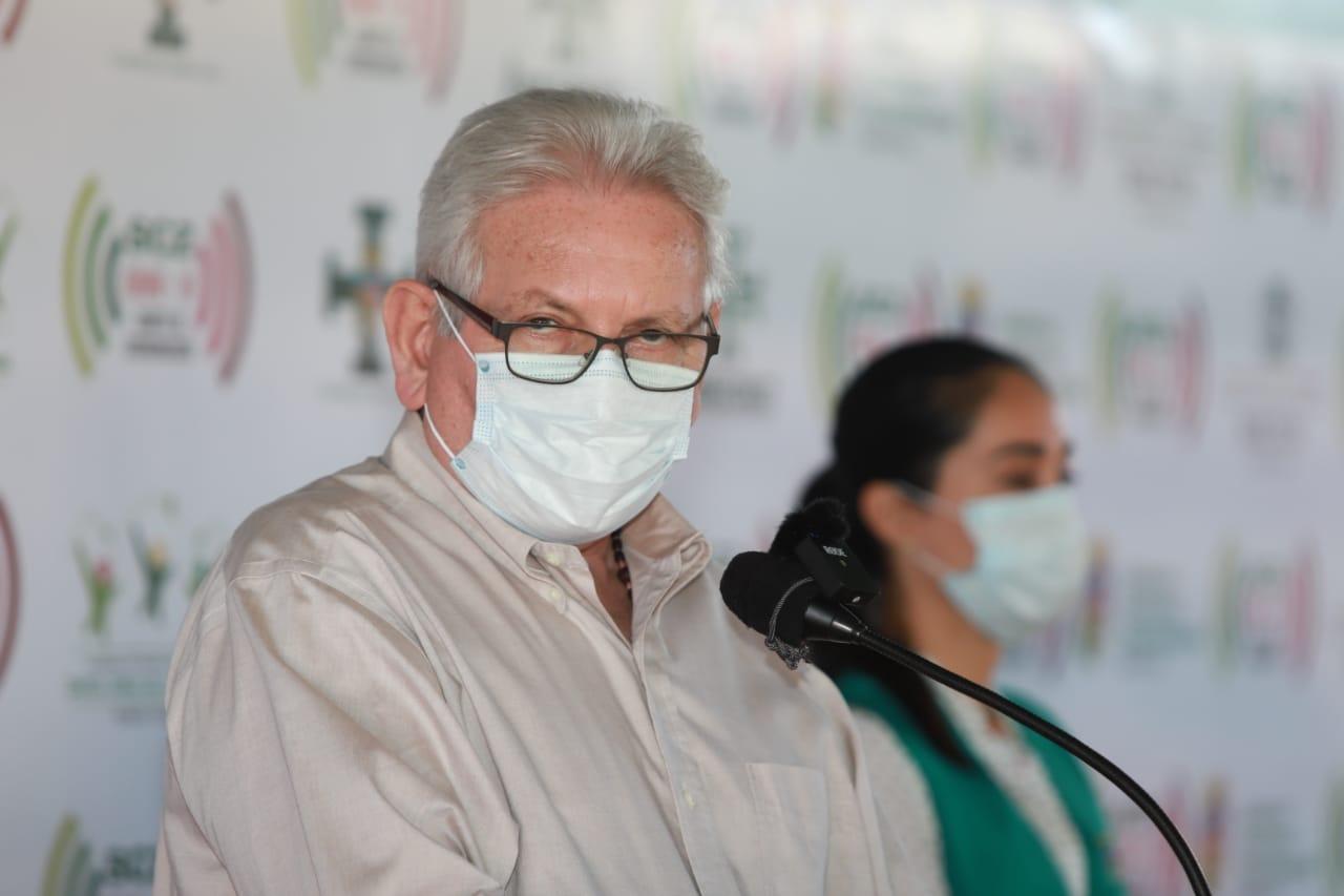 A 70 días de la epidemia, gobernador anuncia más respiradores para terapia intensiva y la implementación del otro laboratorio dentro de dos días
