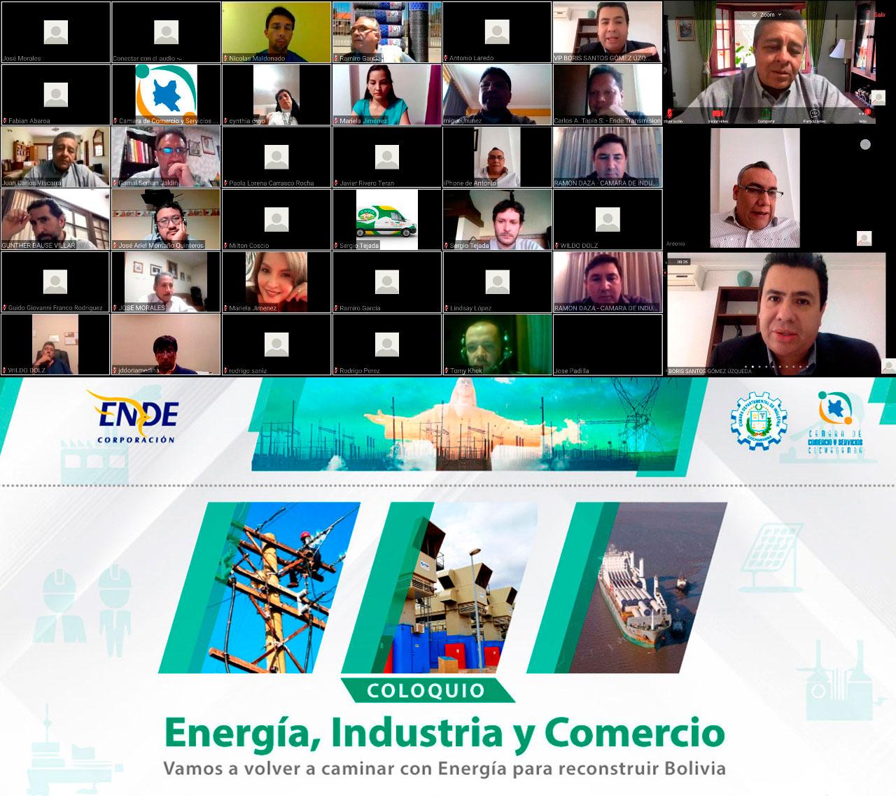 Ende corporación genera lazos con empresarios de cochabamba