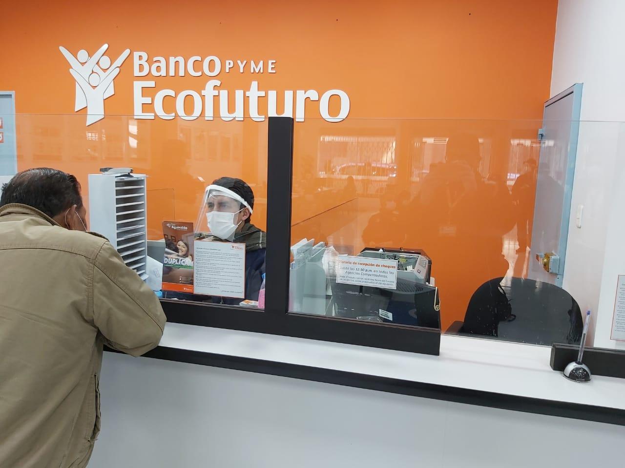 Ecofuturo realiza el pago de más de 120.000 Bonos sociales a nivel nacional