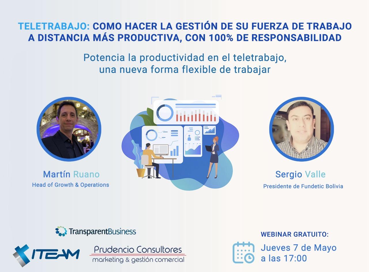 ¿Cómo las empresas pueden estimular la productividad y la responsabilidad con el Teletrabajo?