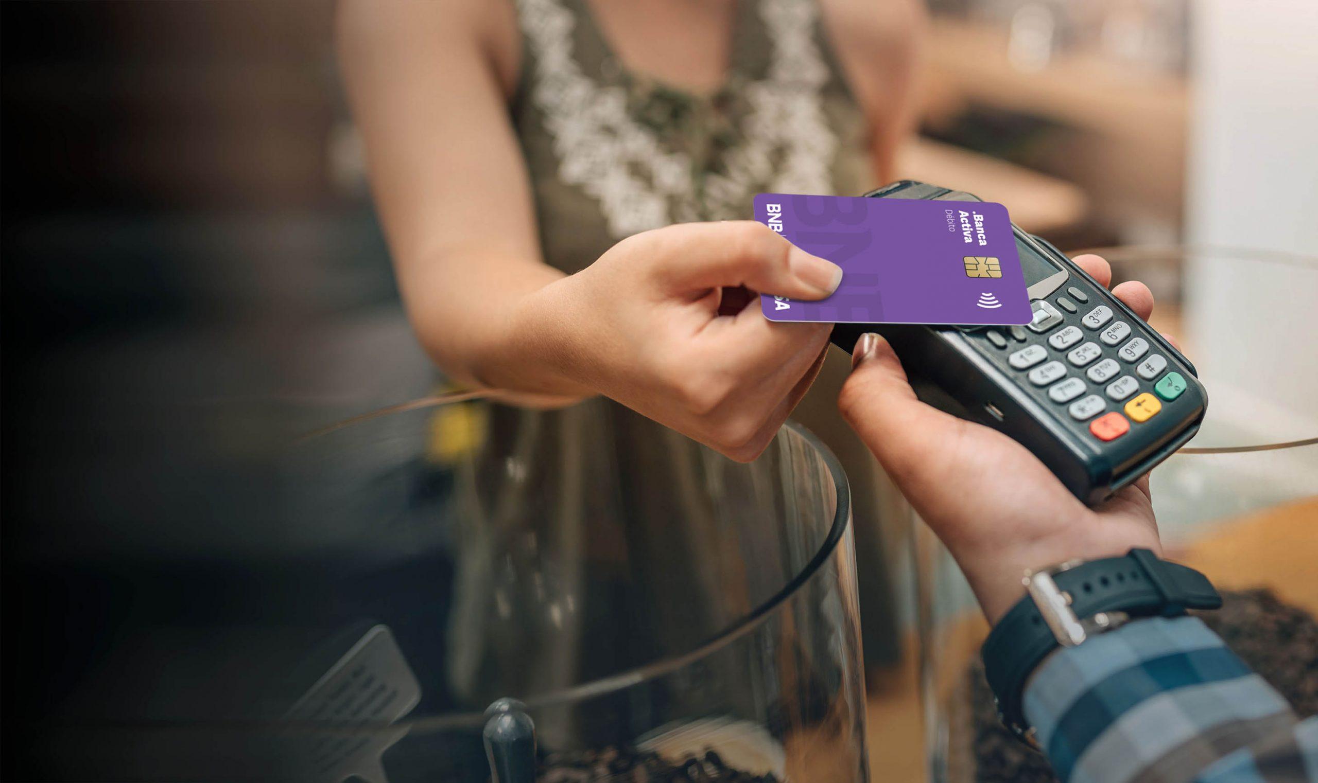 Contactless: la nueva forma de pagar con tarjetas sin contacto del BNB