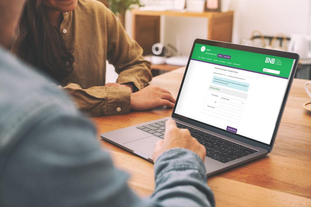 BNB habilita su página web para pago de Tributos Fiscales de Impuestos Nacionales