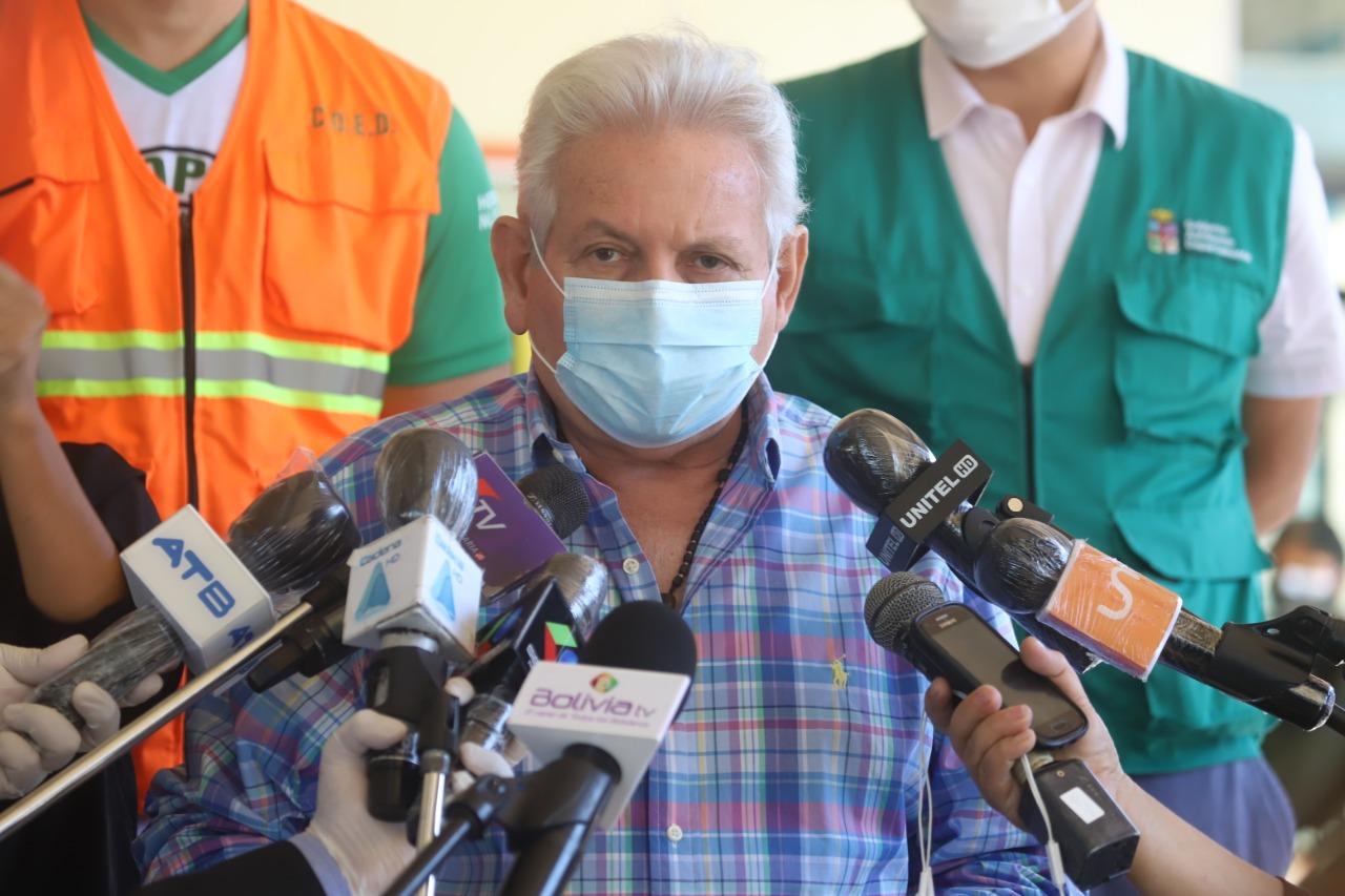 Rubén Costas pide celeridad a diputados para tratar ley que restituye el 12% del IDH