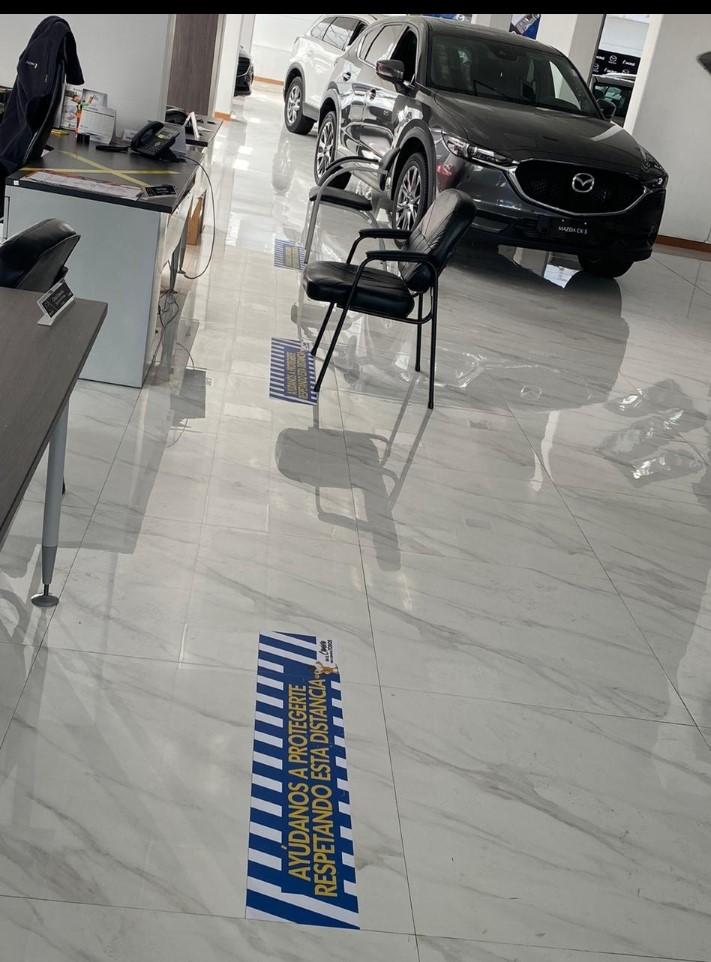 Imcruz alista salones y oficinas con estrictas medidas de higiene y desinfección