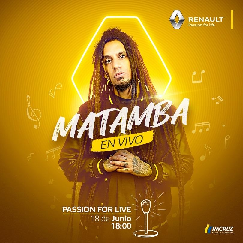 Renault brinda conciertos en vivo junto con artistas bolivianos