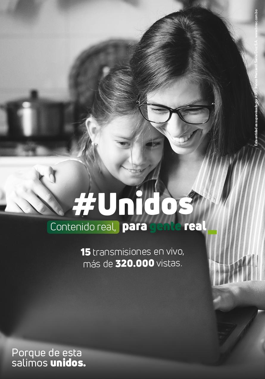 """El Banco Mercantil Santa Cruz y su campaña """"Contenido real para gente real"""", impacta con información de valor a miles de familias bolivianas"""