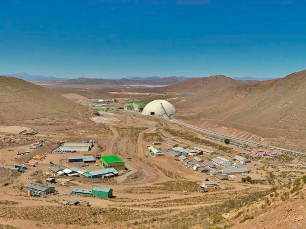 Potosí reporta baja en regalías mineras por cinco días de paralización de San Cristóbal