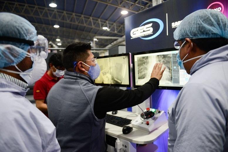 Gobierno recibe moderno equipo de rayos X que reforzará la lucha contra el COVID-19 en Trinidad