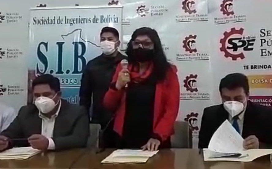 Empresarios de Chuquisaca se comprometen a promover el Programa de Apoyo al Empleo