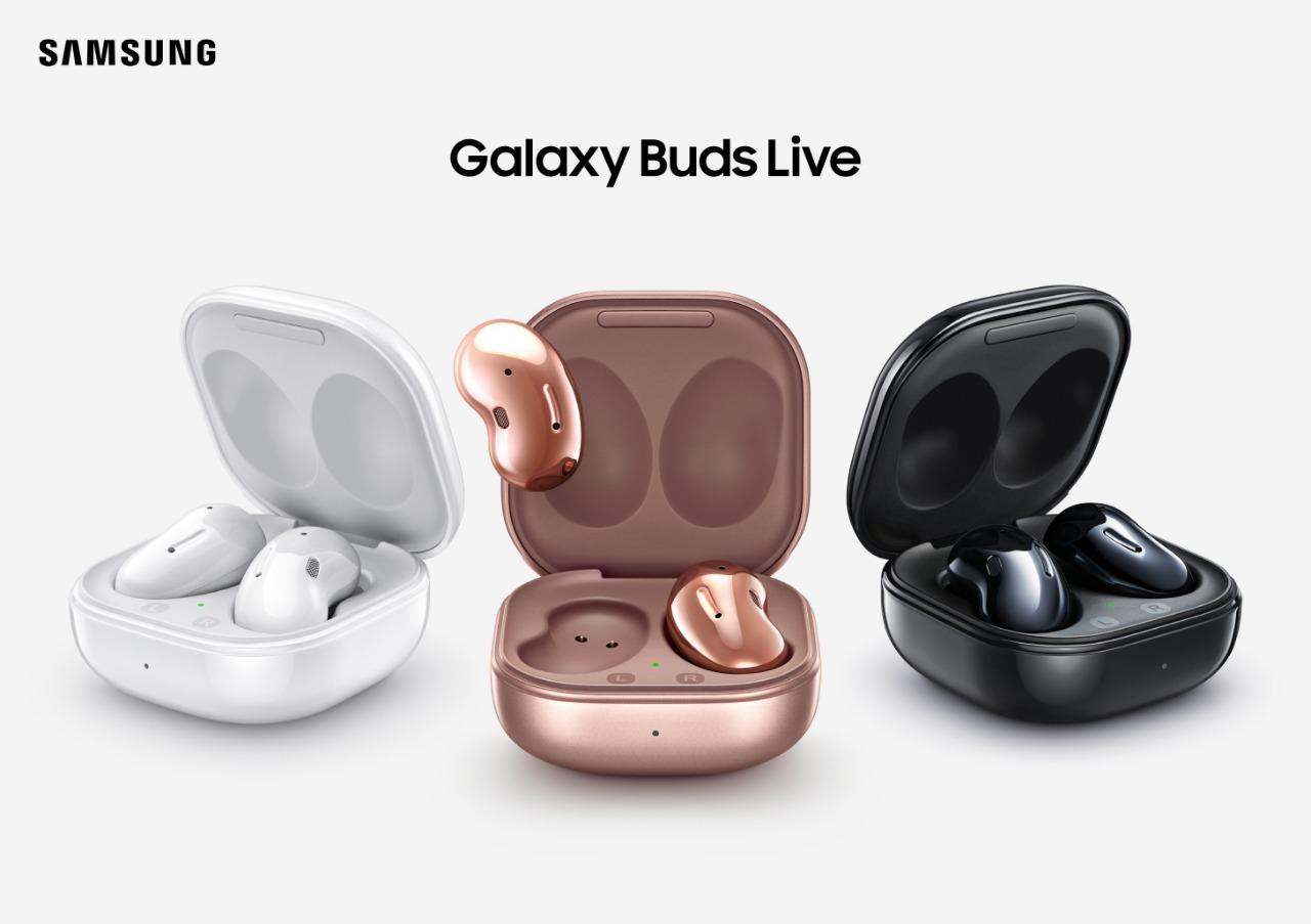 Galaxy Buds Live los nuevos audífonos de Samsung que amplifican y dan vida al sonido