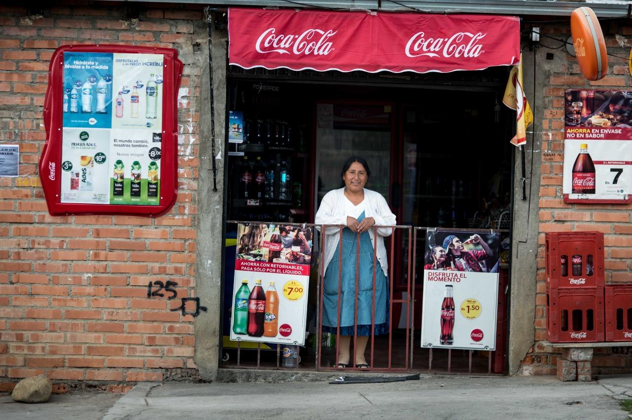 Coca-Cola, una compañía global muy boliviana
