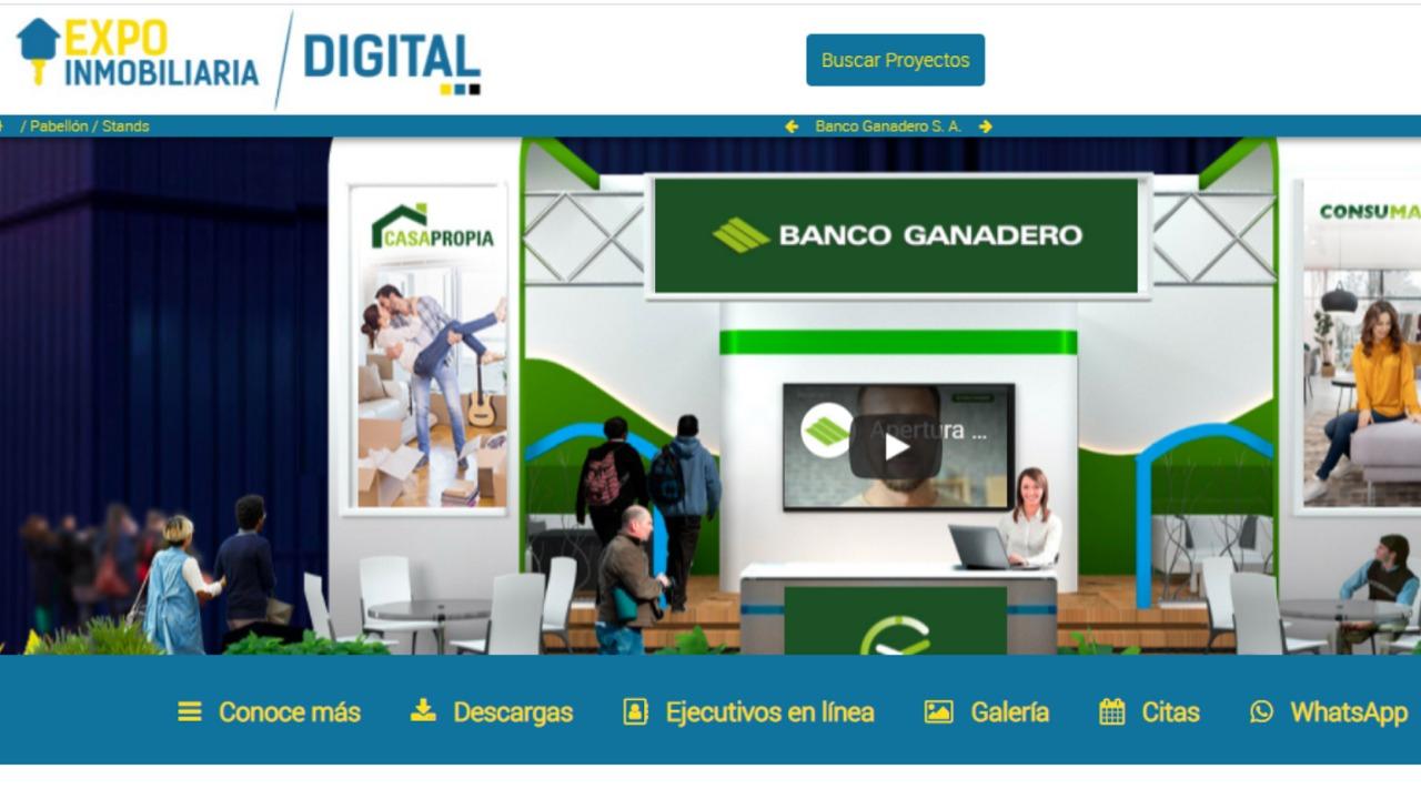 Más de 50 proyectos inmobiliarios presentes en feria virtual auspiciada por el Banco Ganadero
