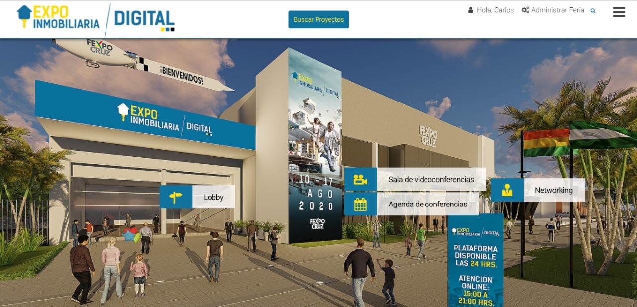 Cierra la 1ª. Expo Inmobiliaria Virtual con la exhibición de 73 proyectos y más de 23.400 visitas