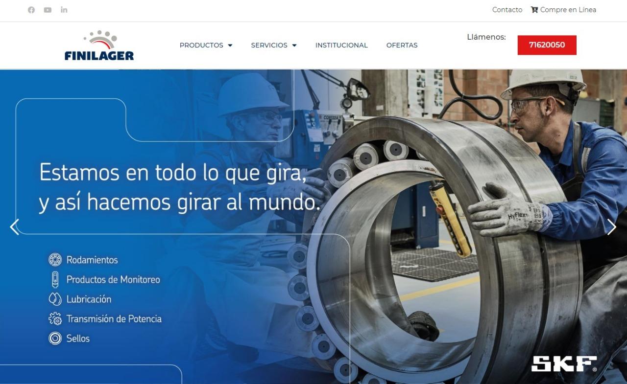 Finilager se incorpora al comercio electrónico con más de 30 mil productos disponibles