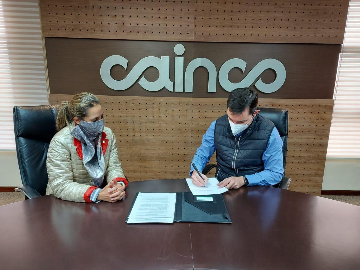Ministerio de Desarrollo Productivo y CAINCO firman convenio para impulsar la producción nacional
