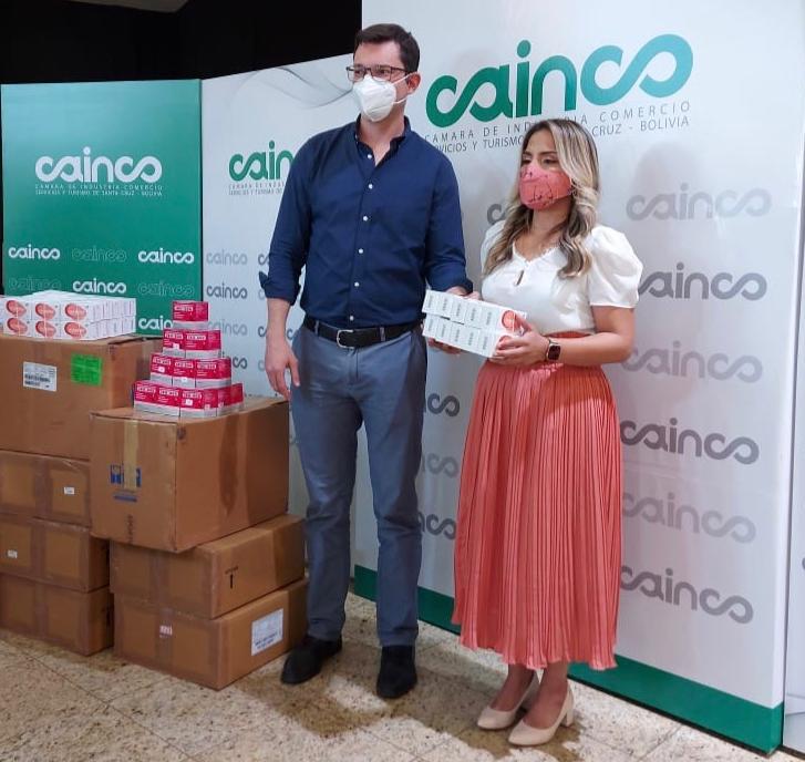 CAINCO entrega kits de medicamentos para la Chiquitania