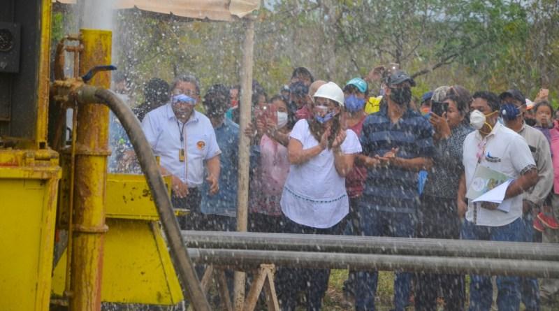 Gobierno prioriza perforación de pozos de agua en la zona de la Chiquitania