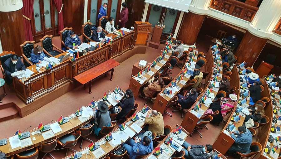 Gobierno lamenta que la Asamblea Legislativa haya bloqueado recursos del exterior por Bs 20.000 millones