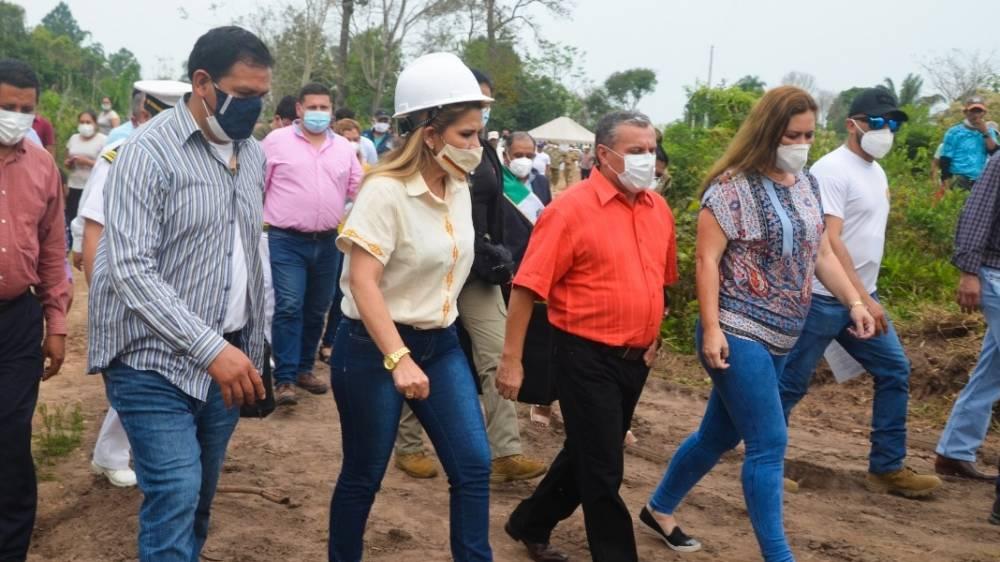 Gobierno inicia la perforación pozos de agua en Santa Cruz, frente a afectaciones por la sequía