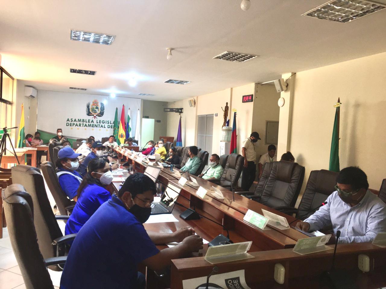 Asamblea Departamental de Beni aprueba presupuesto de Bs 374,1 MM para 2021