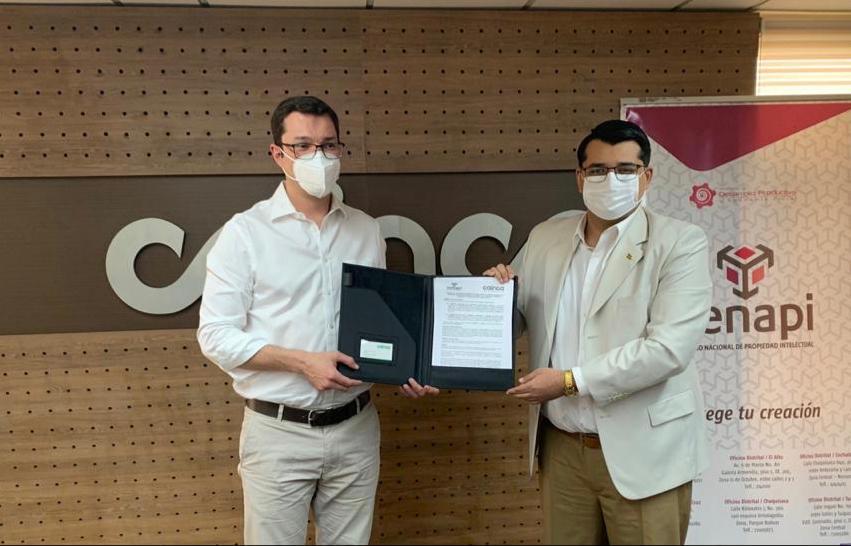 Cainco y Senapi firman convenio de cooperación interinstitucional