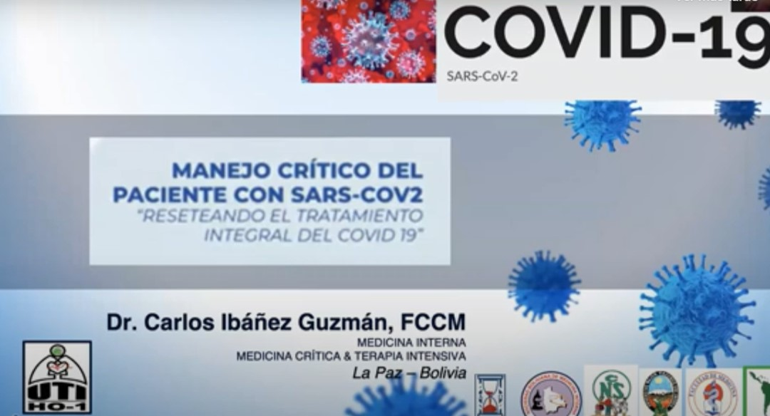 Médicos se unen para paliar el COVID-19 a través del programa Resiste Bolivia