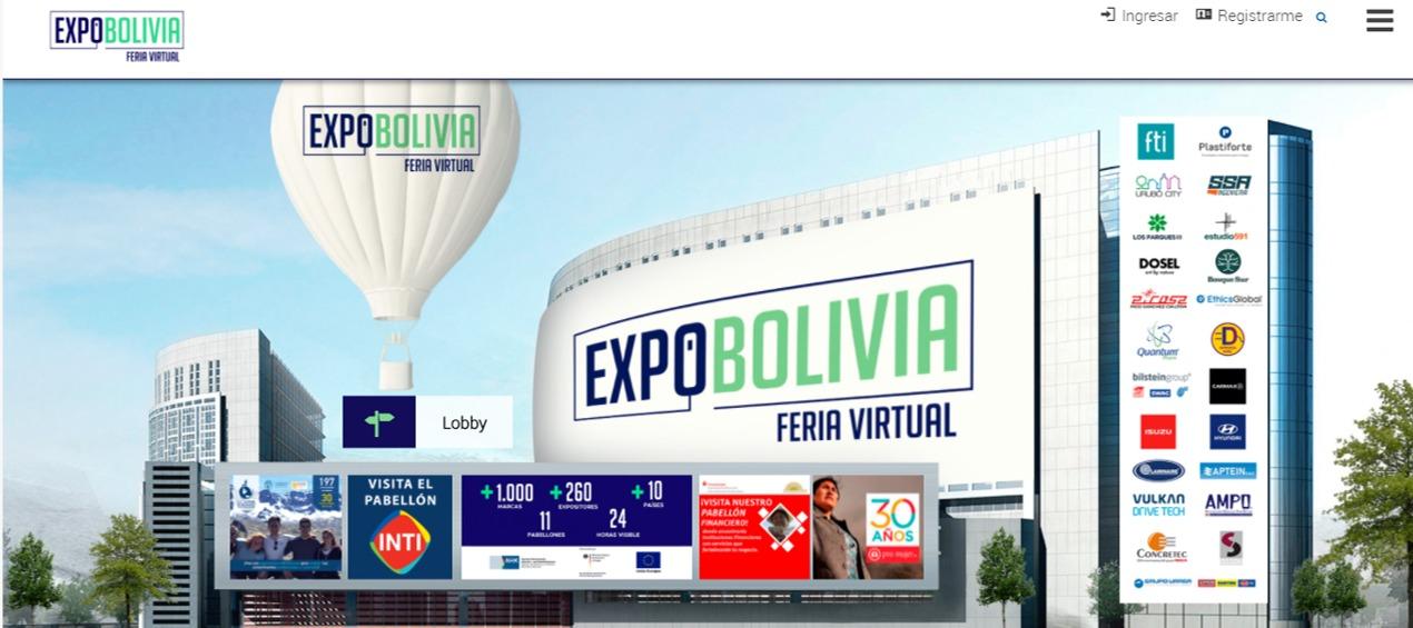 Droguería INTI participará de la primera feria virtual multisectorial en Bolivia