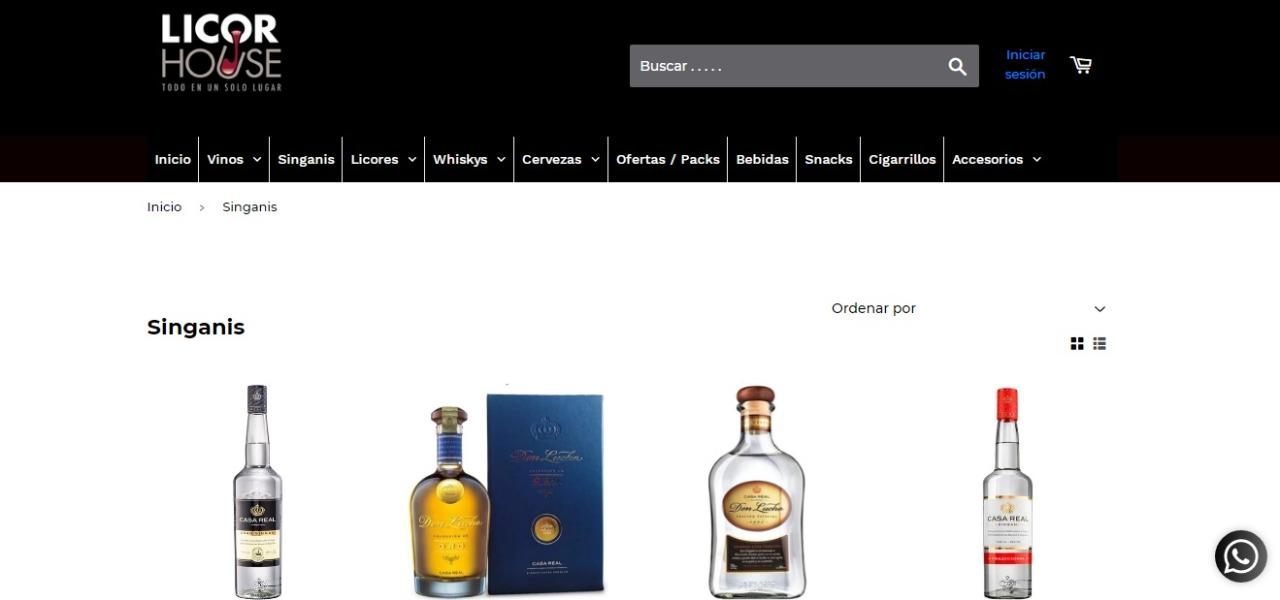 Licor House estrena tienda online exclusiva para amantes de vinos y licores