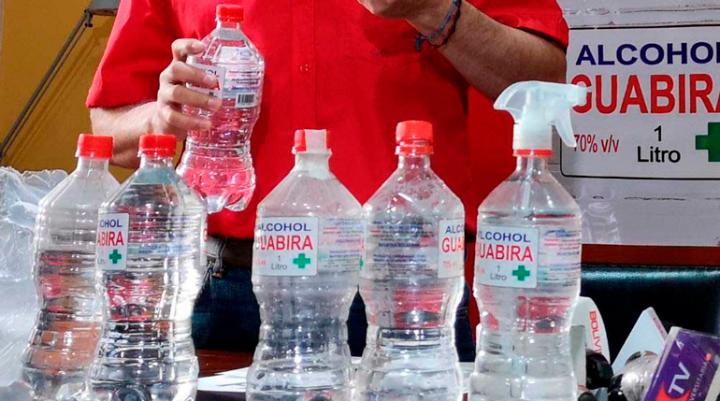 El Ingenio Guabirá denuncia venta ilegal de alcohol adulterado y recomienda precaución