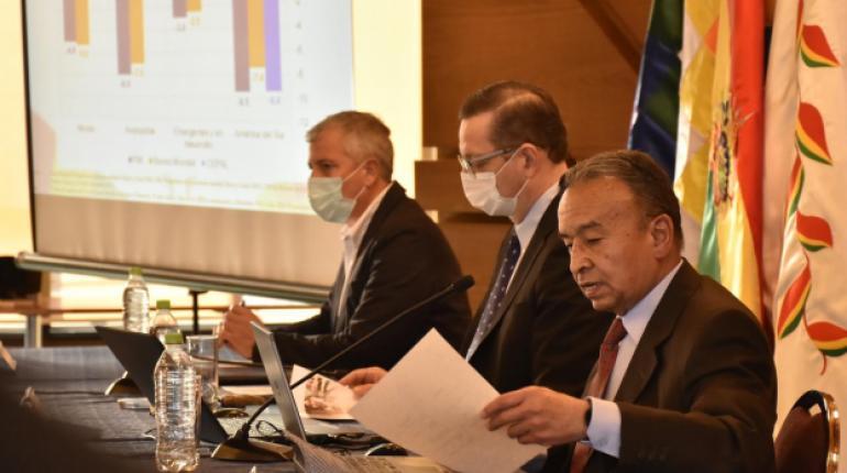 Economía de Bolivia se contraerá en 6,2% de acuerdo con la revisión del programa financiero