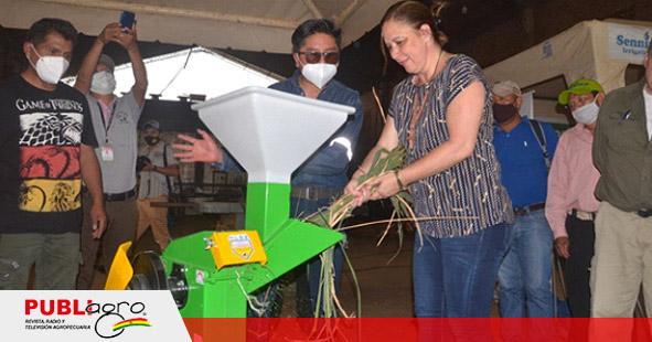 Unas 5.000 familias de productores agropecuarios se benefician con tecnología en Santa Cruz