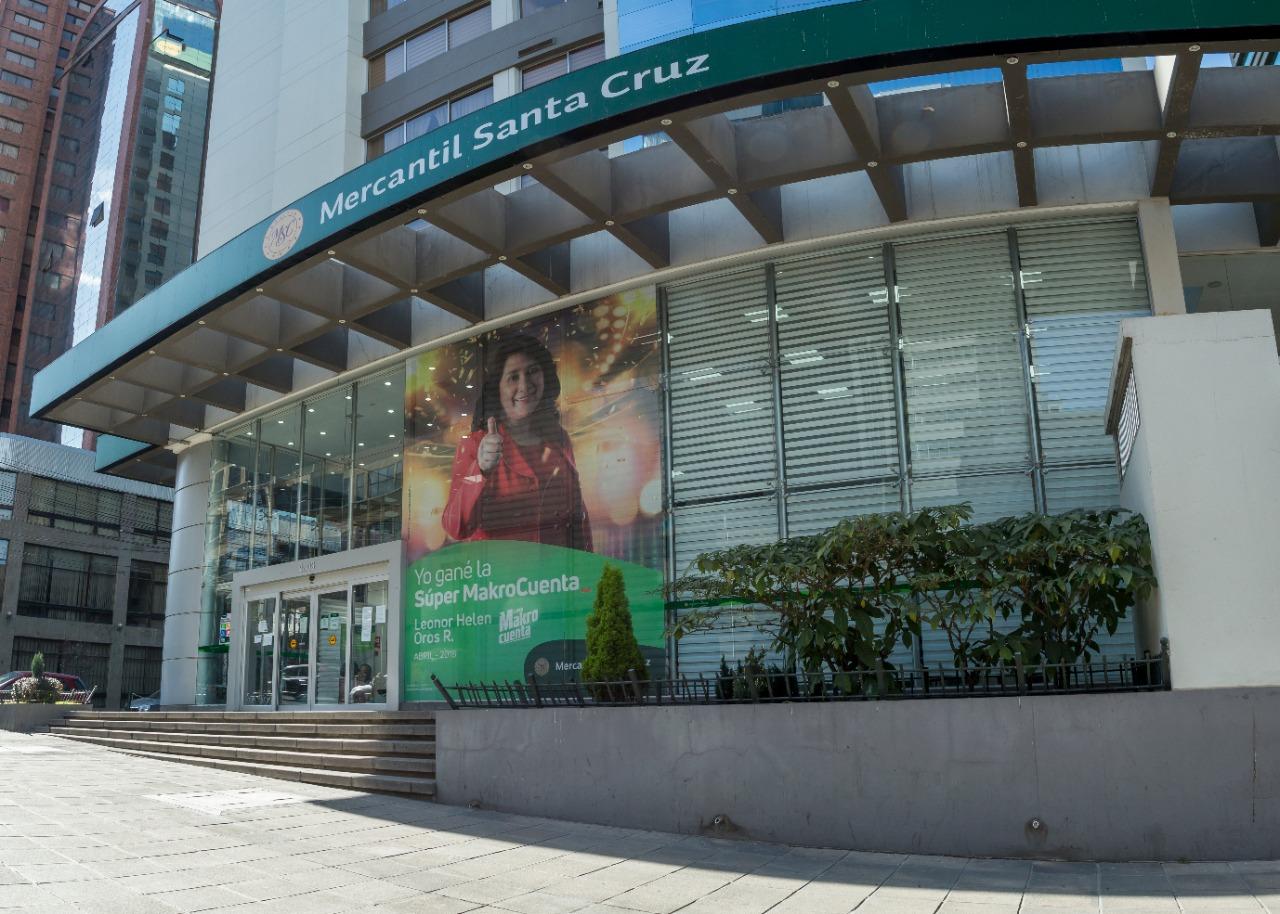 El Banco Mercantil Santa Cruz coloca el 100% de los bonos emitidos por un total de Bs. 170 millones