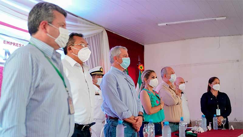 Presidenta Áñez impulsa Puerto Busch para fortalecer la exportación por el Océano Atlántico