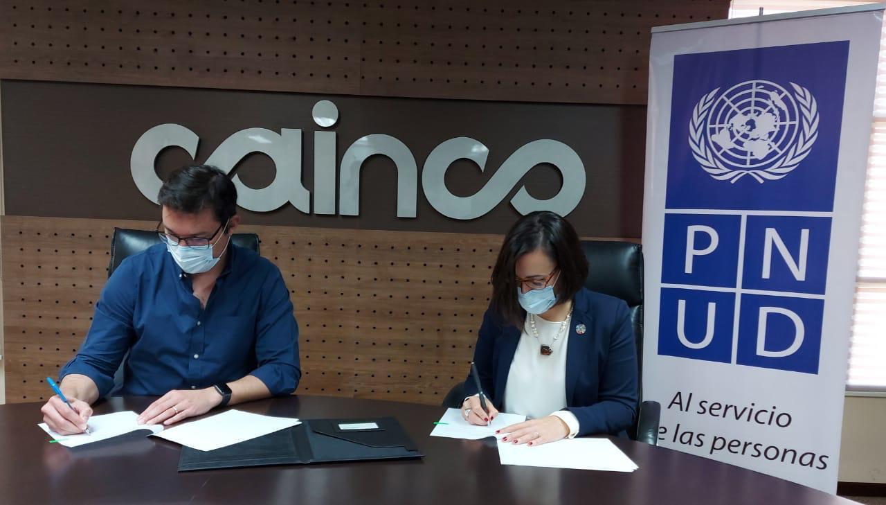 PNUD y CAINCO establecen líneas de acción para trabajar los Objetivos de Desarrollo Sostenible con el sector privado