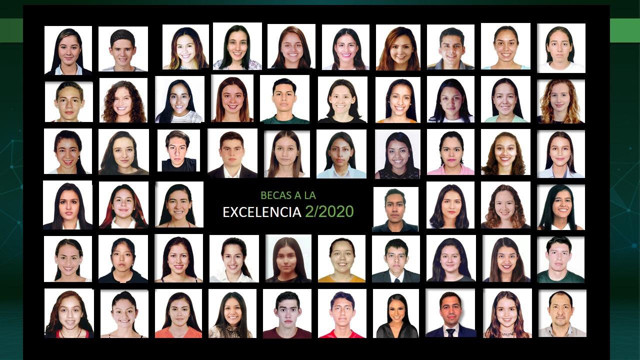 UPSA distingue a estudiantes destacados con Beca a la Excelencia