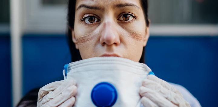 Consejos para proteger la piel del rostro por el uso frecuente de insumos de seguridad