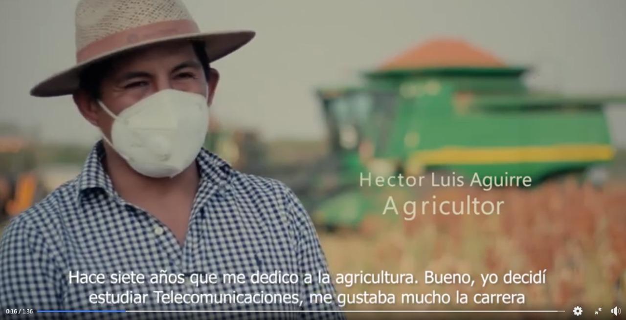 Motivador video: La historia de un agricultor generador de empleos