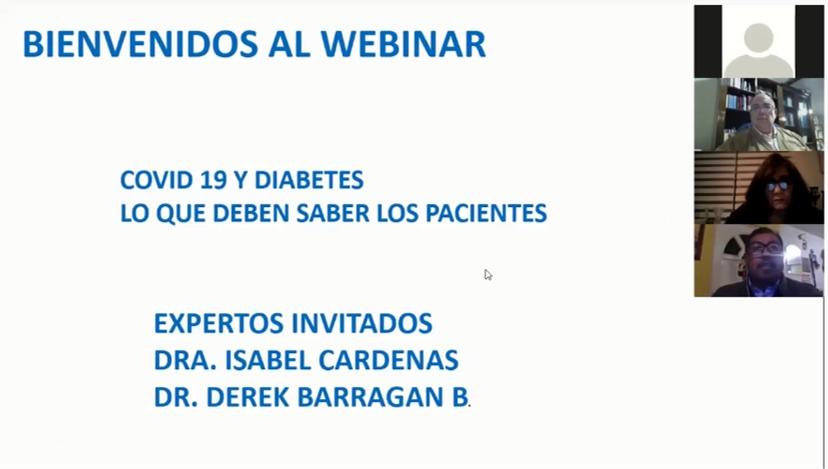 INTI realizó más de 40 seminarios virtuales para capacitar a personal de salud sobre la diabetes