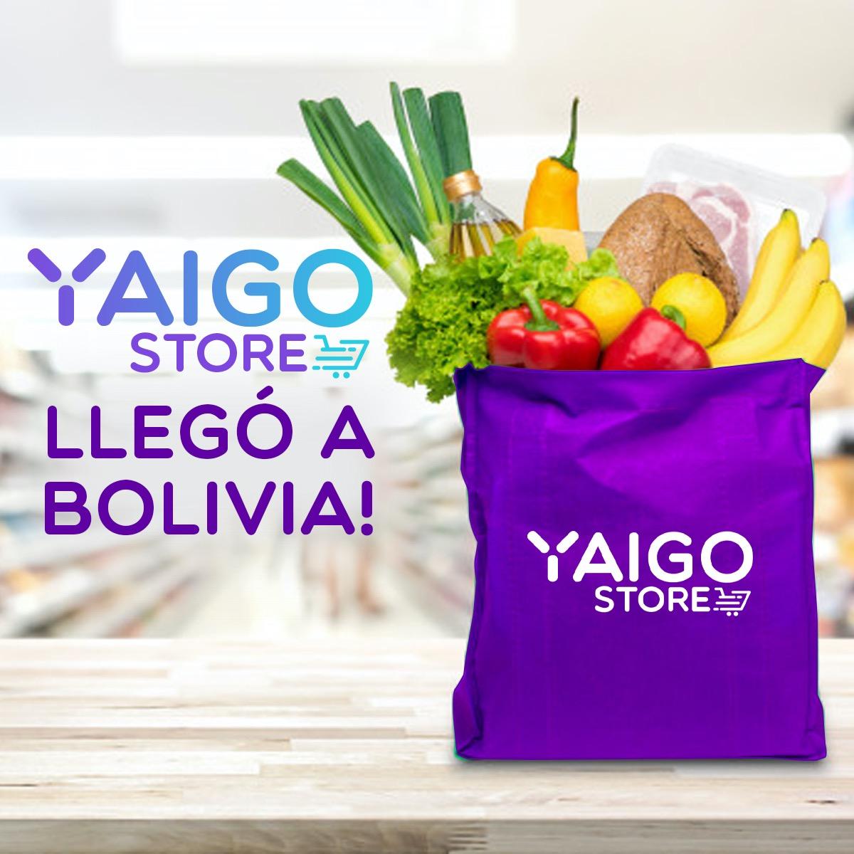 ¡YAIGO Store llegó a Bolivia!