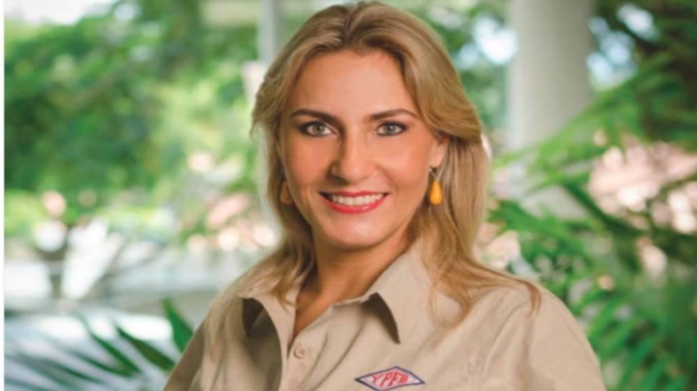 Designan a Katya Diederich como nueva presidenta de YPFB