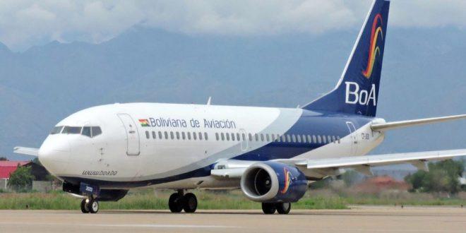 """Ministro de Obras Públicas anuncia que BoA retomará los horarios """"importantes"""" de vuelos"""