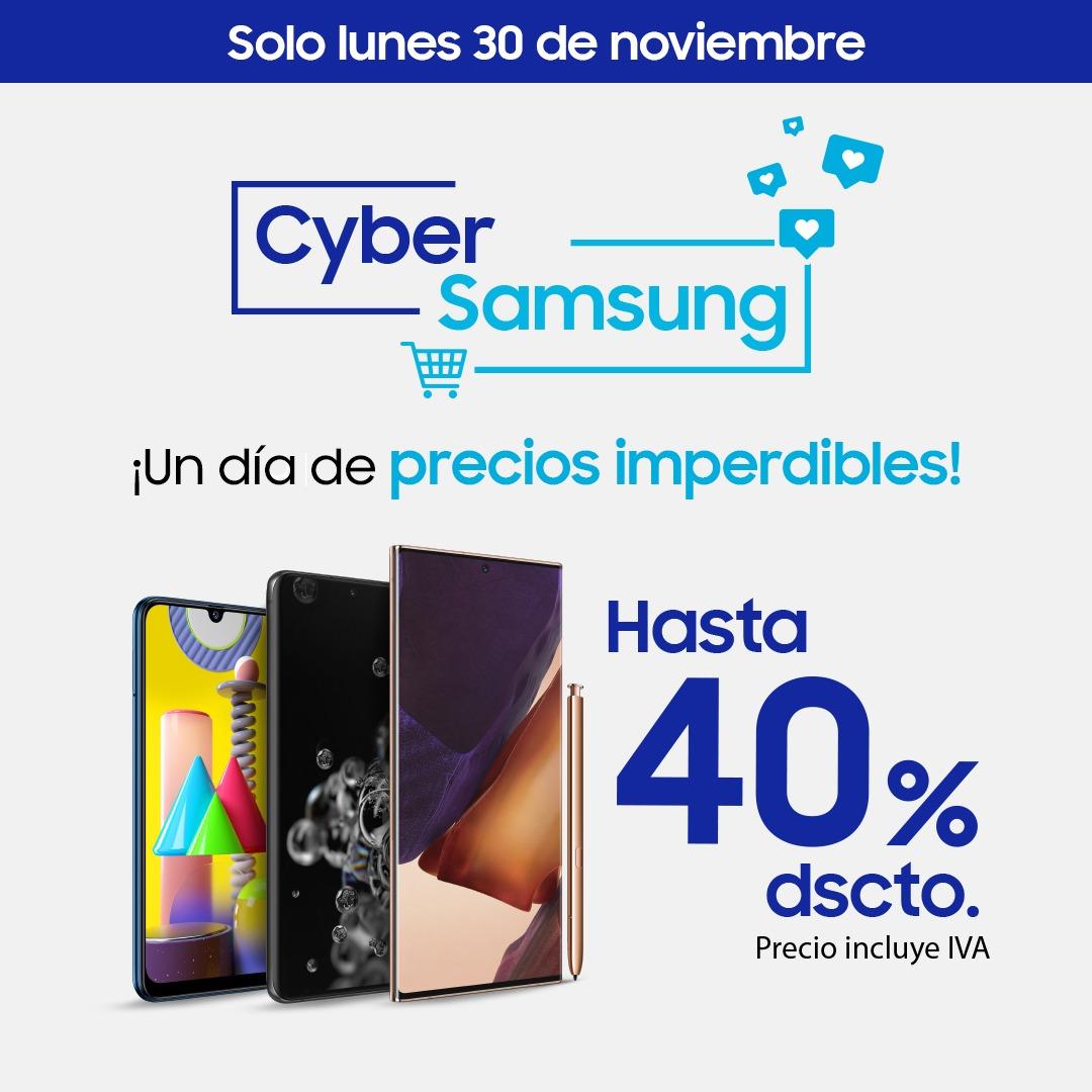 Cyber Monday de Samsung llega con descuentos de hasta 40% en diferentes dispositivos