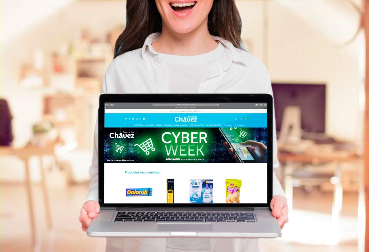 Más de 200 productos tienen imperdibles descuentos de Cyber Week en Farmacias Chávez